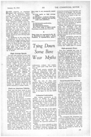 Tying Down Some Bore Wear Myths | 10th January 1947 | The