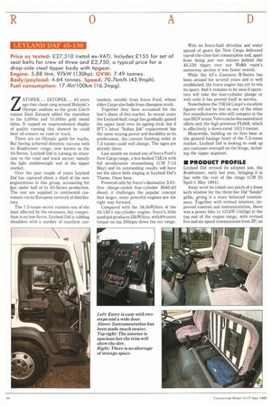 Leyland Daf 45 130 11th June 1992 The Commercial Motor