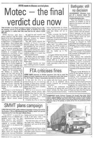 Motec the final verdict due now | 14th April 1984 | The