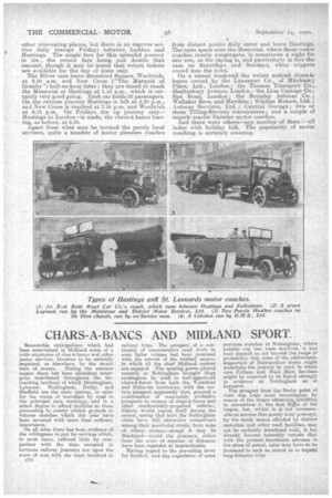 chars a bancs and midland sport 14th september 1920 the commercial motor archive. Black Bedroom Furniture Sets. Home Design Ideas