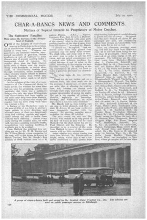 char a bancs news and comments 20th july 1920 the commercial motor archive. Black Bedroom Furniture Sets. Home Design Ideas