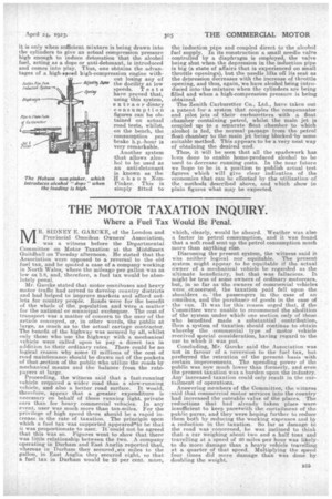 The Motor Taxation Inquiry 24th April 1923 The