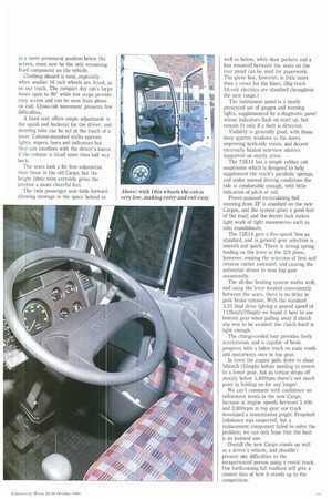 For once, it seems the hype is justified  Iveco   24th October 1991