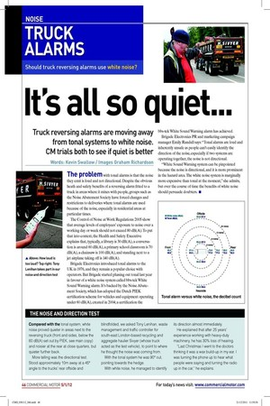NOISE | 5th January 2012 | The Commercial Motor Archive